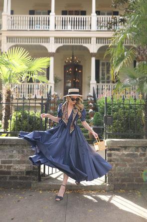 Atlantic-Pacific Stripe Dress Spring Savannah