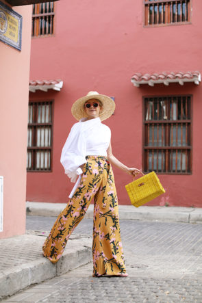 Atlantic Pacific Printed Pants in Cartagena
