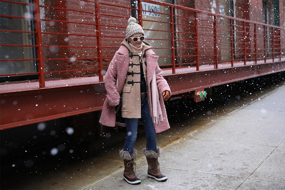 Atlantic-Pacific Blog Blair Eadie A Snow Day Outfit NYC
