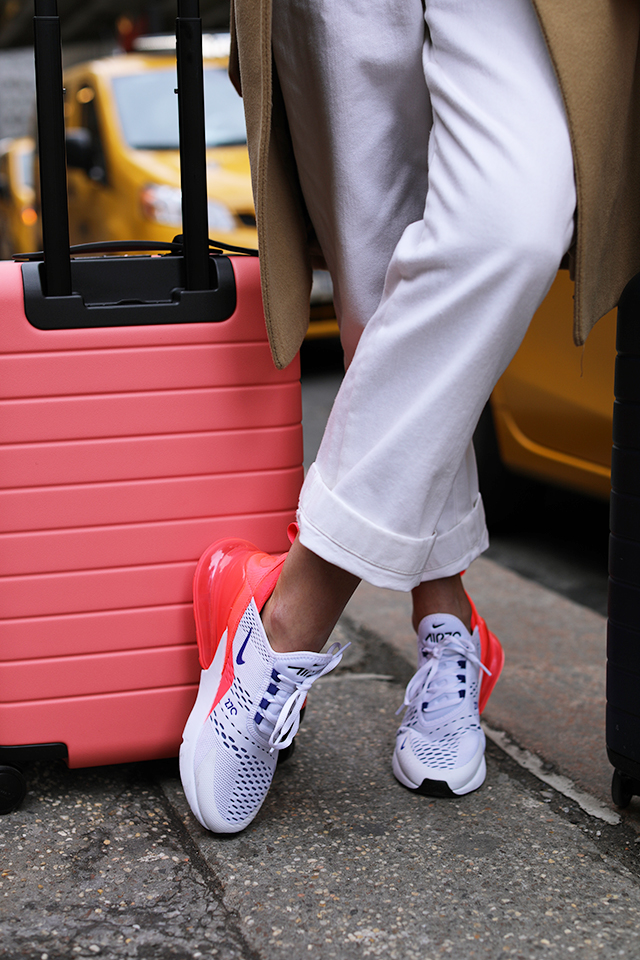 Nike Air Max 270 Rosa Og Hvite Polka 6Pb98VhH