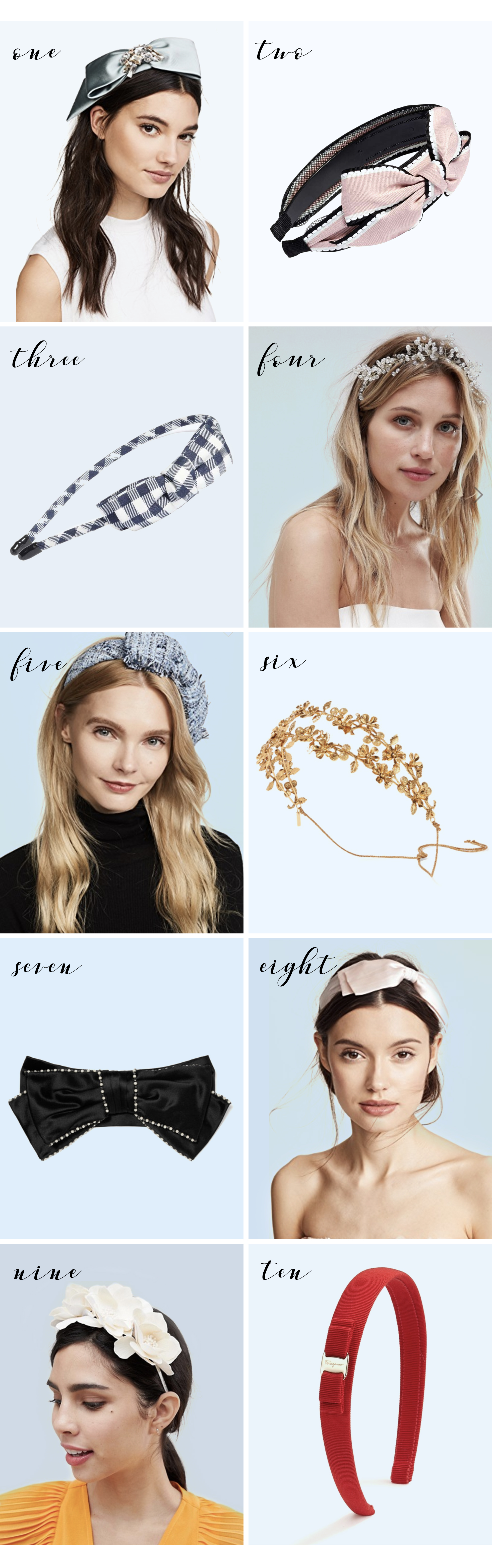 statement headbands