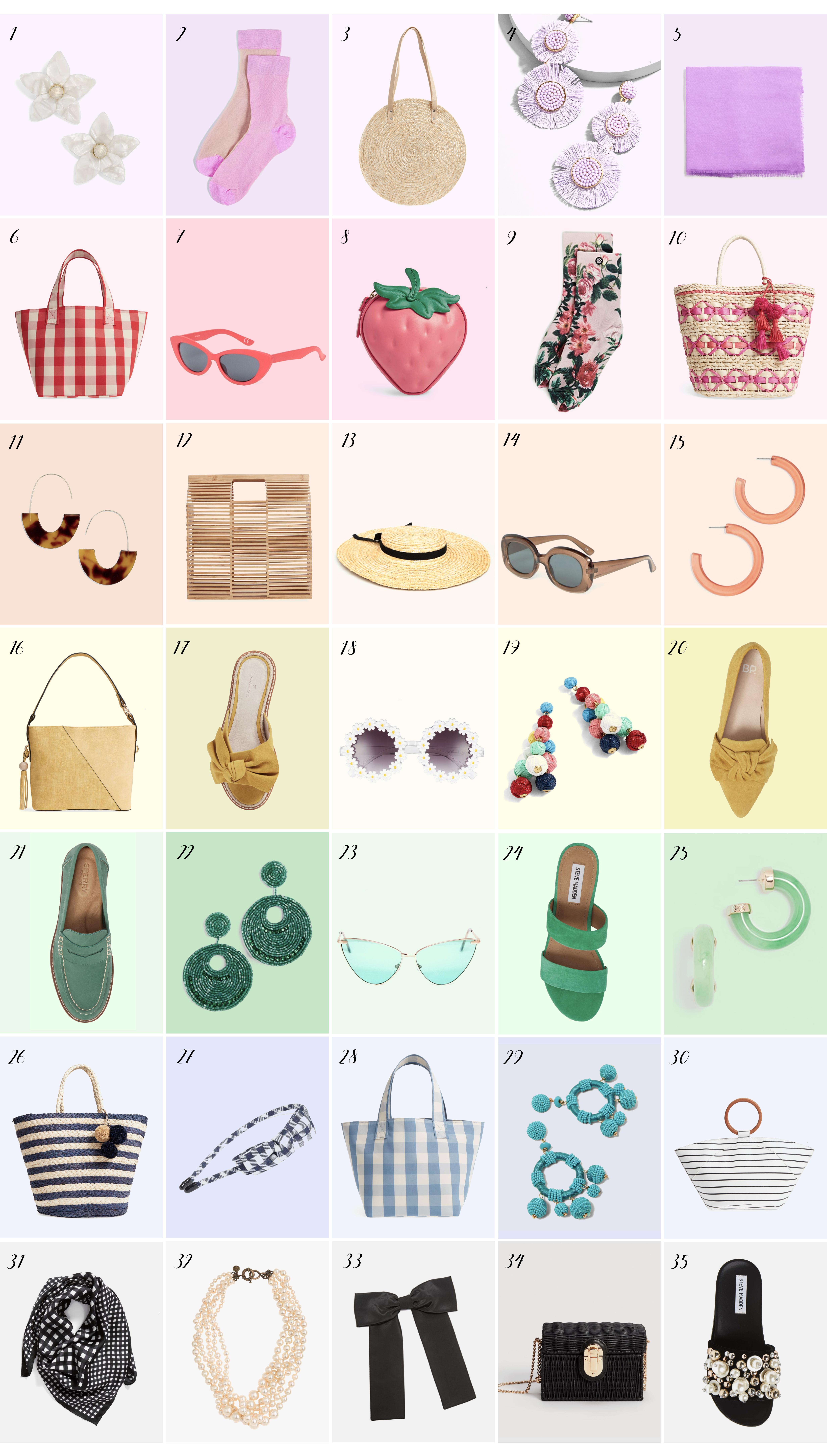 spring accessories under $100