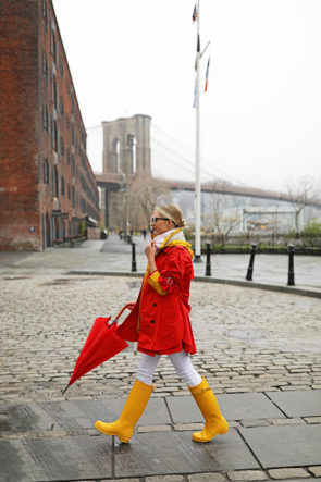 atlantic-pacific rain outfit hunter boots
