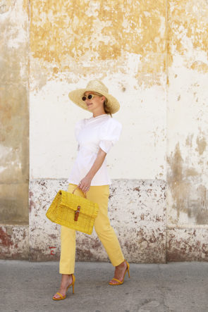 Atlantic Pacific How to wear yellow for spring