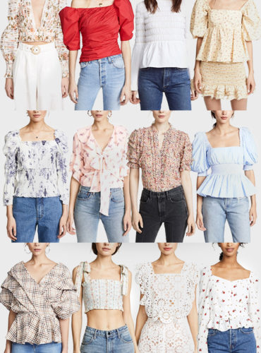 Romantic Tops for Spring