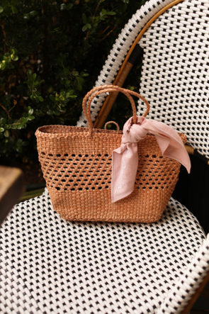 Woven, straw and basket bags for summer