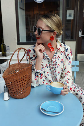 PJ chic, How to wear print on print
