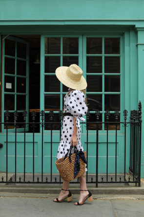 How to style polka dots // The best dot print dresses for spring