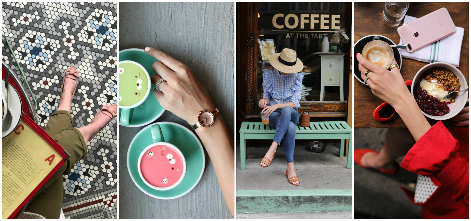 INSTAGRAM WORTHY CAFES IN NYC //   Atlantic-Pacific