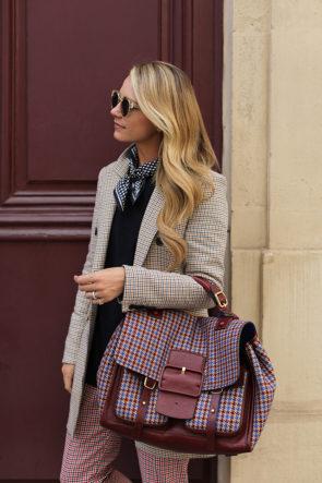 Plaid in Paris // My favorite blazer brand