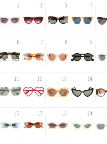 THE BEST SUMMER SUNGLASSES
