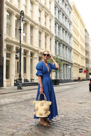 blue cult gaia dress