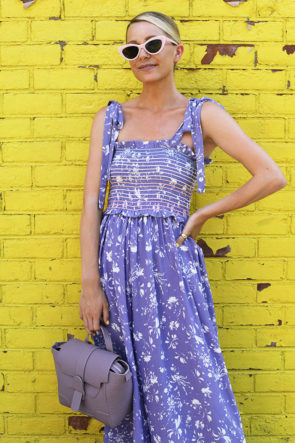 Lilac Jumpsuit Brooklyn Summer Atlantic Pacific