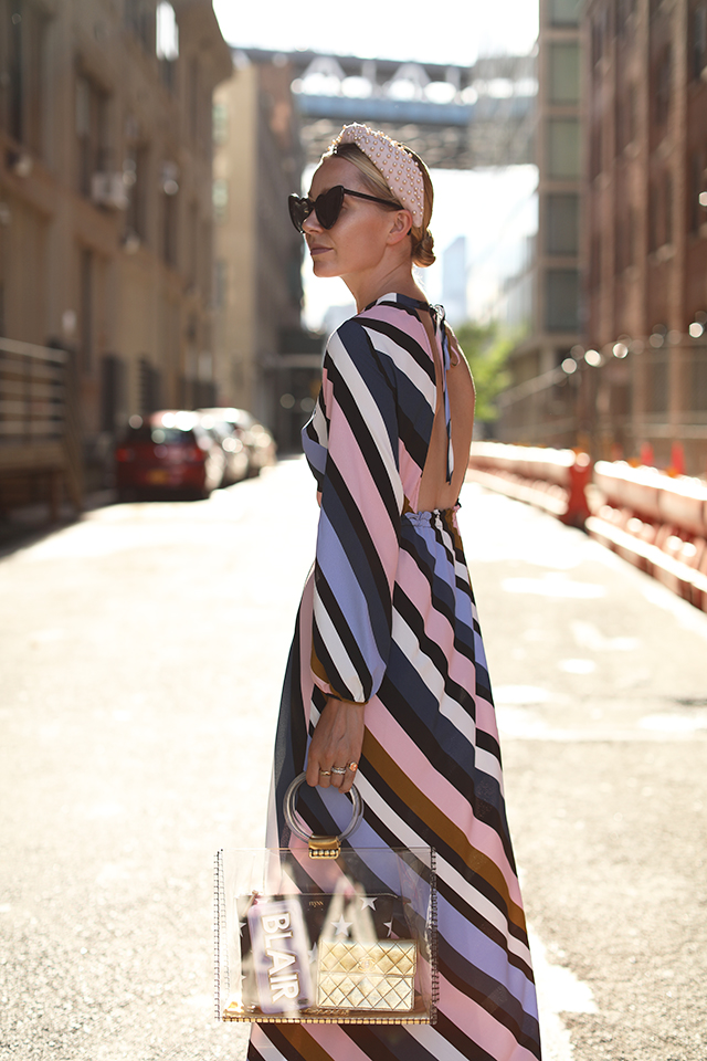 stripe topshop dress