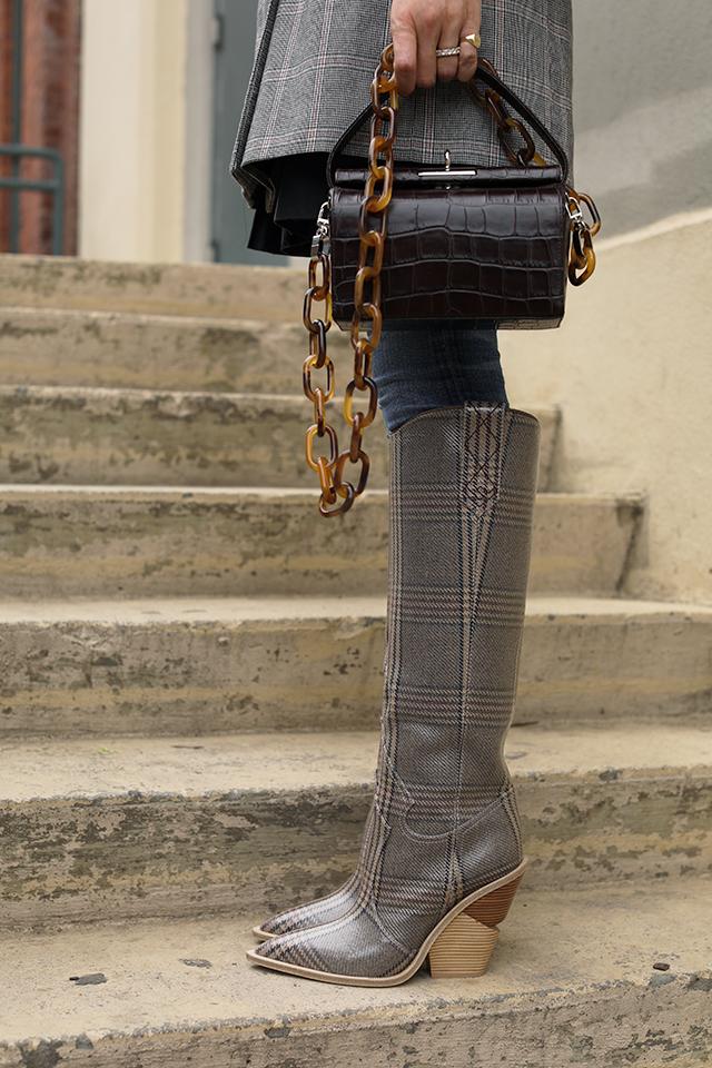 western fendi boots