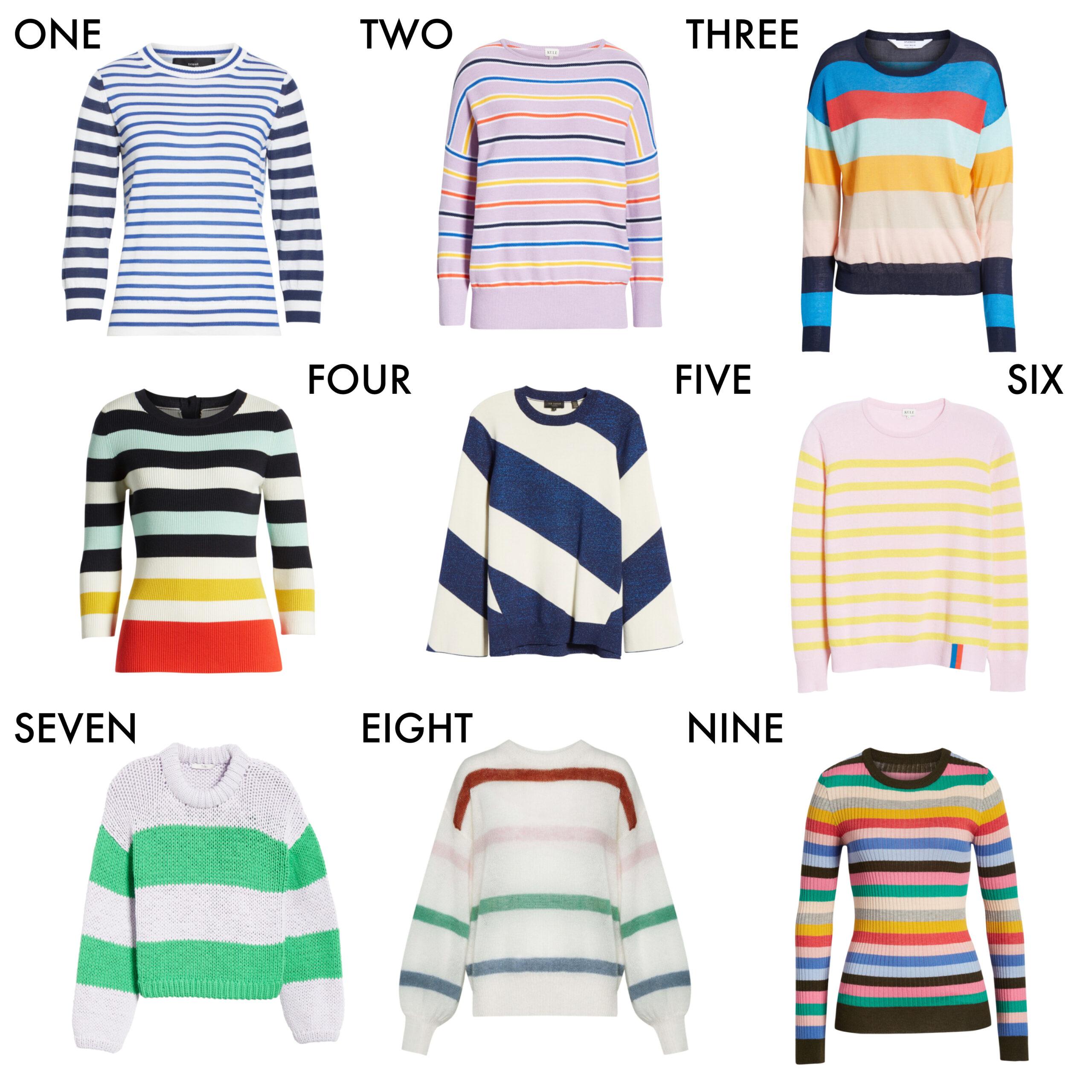 striped sweaters atlantic-pacific blair eadie