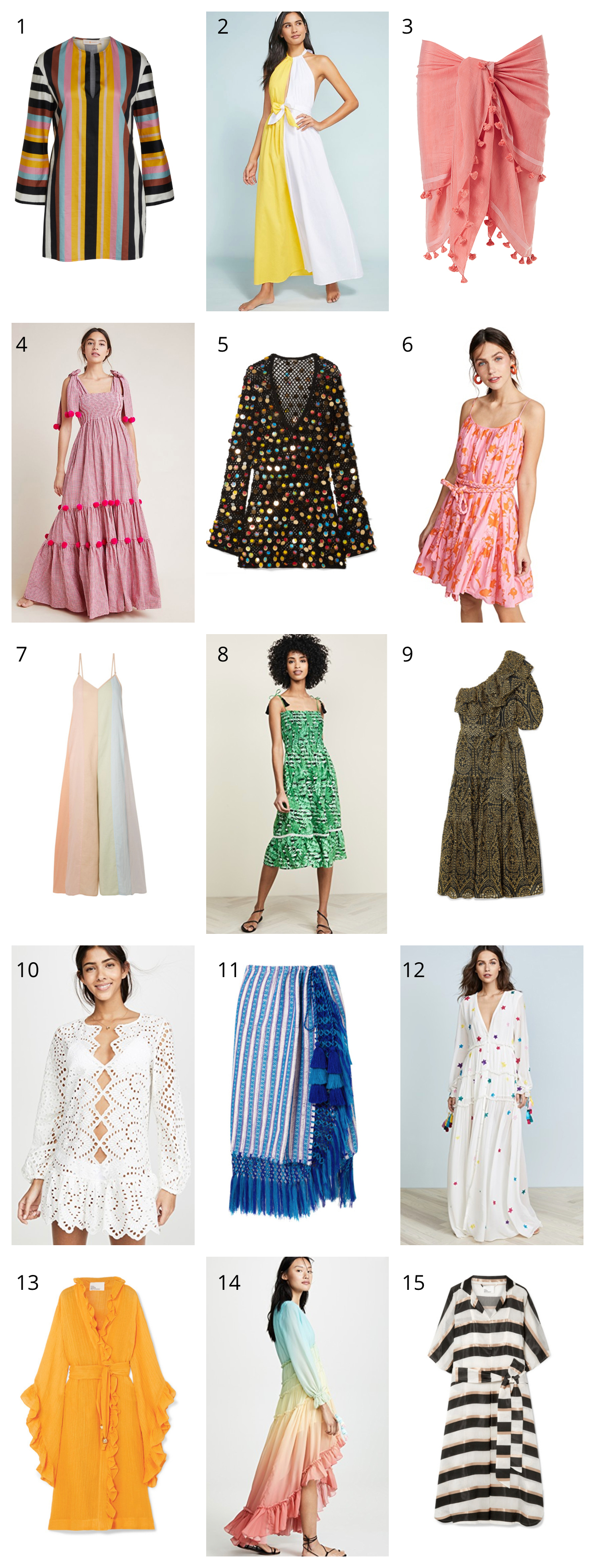 24084e40a8b97 I am currently down in Florida and living my best life in gauzy kaftans,  easy sarongs, and casual throw-on tunics. I am rounding up all my current  favorites ...