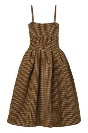 Checkered Seersucker Dress