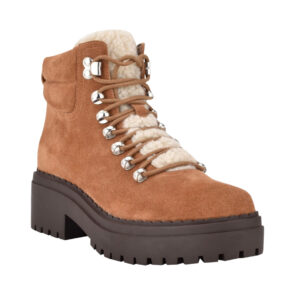 Lace Up Hiking Bootie